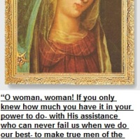 Catholic Quote for Women